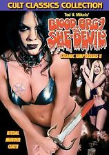Blood Orgy of the She Devils DVD Ted V. Mikels - NEW