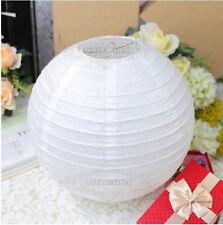 Bulk Chinese lantern family party wedding decoration 4pcs 8 inch White
