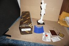 GIUSEPPE G ARMANI LADY WITH DOG FIGURINE 1987 FLORENCE IN BOX W/ PAPERS ITALY