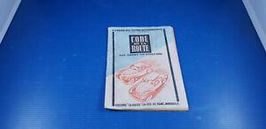Ancien manuel du Code de la route fin années 1940 commenté par Georges Grail