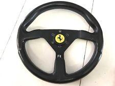 Ferrari 308 208 328 288 Momo Steering Wheel Blue Stitch 350mm With Horn Button