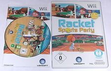 "NINTENDO WII SPIEL"" RACKET SPORTS PARTY "" KOMPLETT"