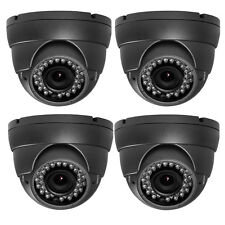 AM 1.3MP 1300TVL 36IR 2.8-12mm Varifocal Lens Surveillance Security Camera 4/pc