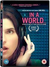 In A World DVD (2014) NEW SEALED. UK Region 2. Lake Bell. Award winning comedy