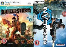Bullet Storm Bulletstorm & inversión Nuevo y Sellado