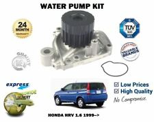 FOR HONDA HRV HR V 1.6 1590CC + VTEC 1999-2006 NEW WATER PUMP KIT 19200-P2A