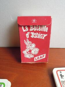 Jeux de cartes la bataille d Astérix leaf bubble gum Editions Dargaud 1972
