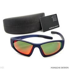 PORSCHE DESIGN UNISEX MADE JAPAN MIRROR BLUE SUNGLASSES,MODEL P3005-D, BRAND NEW