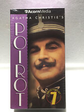 POIROT - Agatha Christie - Set #7 VHS  BRAND NEW - SEALED - 3 Tapes / 9 Episodes