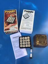 JEU de société / FOGGLE Chrifres Capiepa 1à8 joueur 1977 type COGGLE BOGGLE N°2