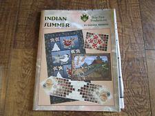 Indian Summer / Brenda Henning Quilt Patterns Book