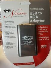 Tripp Lite USB to VGA Adapter Model U244-001-VGA-R NEW sealed