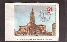 FRANCE 1975 MAXIMUM CARD, PHILATELIC CONGRESS # 1142 !!