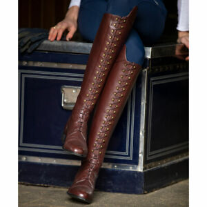 *CLEARANCE* Ariat Womens Capriole Tall Riding Boot - Mahogany