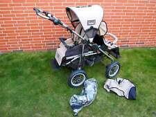 Quinny Freestyle 4XL Plus Tandem Geschwisterkinderwagen sand beige Doppelsitzer