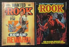 1979 THE ROOK Warren Magazine #2 FN- #3 FN- LOT of 2