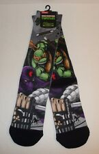 29c7f3af61e Teenage Mutant Ninja Turtles Premium Crew Socks Sublimated TMNT Foot Clan  NEW