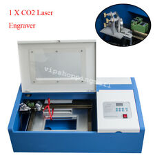 Professional 40W CO2 Laser Engraving Cutting Machine Engraver Cutter 110V/220V