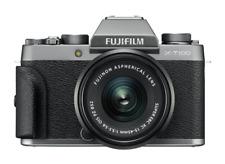 Fujifilm X-T100 24.2 MP Cámara Digital sin Espejo Kit con FUJINON XC 15-45mm F/3,5-5,6 OIS PZ Objetivo - Plata Oscuro