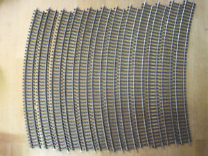 Märklin H0 K-Gleis Hohlprofil 12 x 2151 recht gute siehe großes Bild