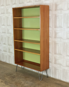 G PLAN Shelving Unit / Wall Bookcase - Hairpin Leg Mid Century *£60 DELIVERY*