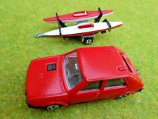 Majorette 239 FIAT RITMO with KAYAKs on TRAILER ~ 1:55