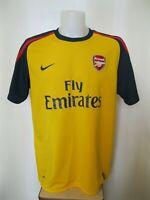 Arsenal London 2008/2009 away Size XL Nike shirt jersey maillot football soccer