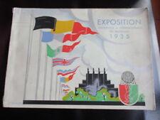 Catalogue de l'exposition Universelle & internationale de Bruxelles 1935