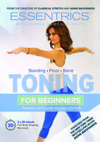 NEW ESSENTRICS Toning for Beginners Sahra Esmonde-White DVD