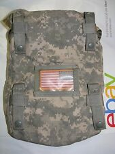 Set of 2 MOLLE II ACU Camo Sustainment Pouch for Rucksack Back Pack Main Bag GI
