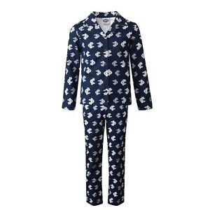 Team AFL Football Youths Kids Flannelette Pyjamas Cotton PJ Set Sleepwear Pants