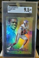 1998 Flair Showcase Row 2 Randy Moss ROOKIE RC #5 BGS 9.5 MINT+ COMPARE TO PSA🔥