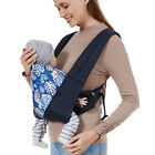 4-in-1 Adjustable Baby Carrier Sling Ergonomic Wrap for Infants Toddlers Newborn