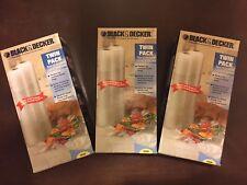 New Black & Decker Vacuum Food Saver Bags 6 Rolls FoodSaver 11 inch x 18 feet
