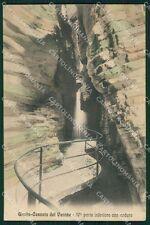 Trento Tenno Cascata del Varone cartolina XB2608