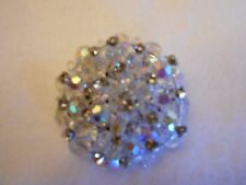 Antique Clear Bead Pin