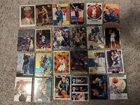 Dallas Mavericks 80+ card lot Nowitzki, Kidd, Nash, Mashburn, Finley, and more