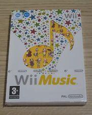 Wii MUSIC-PAL-Nintendo Wii/Wii U Game-Nuovo e Sigillato