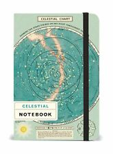 Cavallini - Small Lined Pocket Notebook 4x6ins - Celestial - 256 Pages