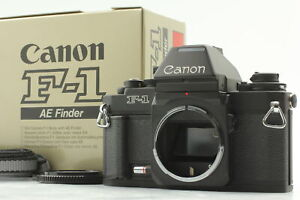 【Almost Unused in Box】 Canon New F-1 AE Finder FN 35mm Film Camera From Japan