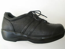 AETREX AMBULATOR LEATHER WMNS CASUAL TERPEUTIC DIABETIC SHOES US 8 XW UK 6 $129