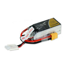 Tattu 1550mAh 4S 75C 14.8V Lipo Battery with XT60 Plug for FPV RC Quadcopter Car