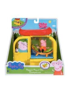 Peppa Pig Peppa's Play n' Go Campervan With Figure And Accessories , Kids Gifts