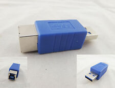 Superspeed USB 3.0 Type A Male to 3.0 Type B Female Converter Connector Adapter