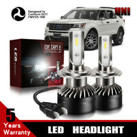 Fit 2004-2016 HYUNDAI ELANTRA 12000LM H7 CSP LED Headlight Bulb 6000K High Beam