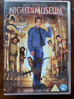 Night At The Museum DVD 2006 Ben Stiller Comédie Film 1 Original