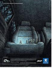 Publicité Advertising 108  2005   la Peugoet 307