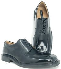 Skechers Mens 13 Black Patent Leather Dress Shoes Cities Angel Bicycle Toe Italy