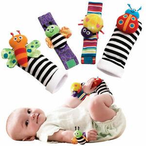 Lamaze Rassel Set Baby Spielzeug Fußfinder Socken Handgelenk Rattles Armband