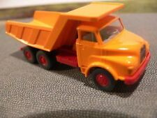 1/87 Wiking MAN Muldenkipper orange 671 1 A